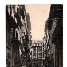 Postales: PAMPLONA (NAVARRA).- CALLE DE ZAPATERIA EDICION DE EUSEBIO RUBIO. Lote 122654327