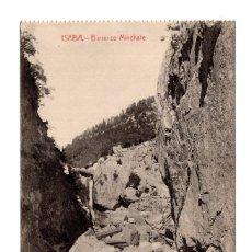 Postales: ISABA (NAVARRA).- BARRANCO MINCHATE (ED.ESTORNÉS). Lote 124464519