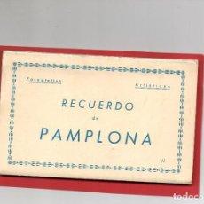 Postales: PAMPLONA. BLOC DE 10 POSTALES COMPLETO. ARRIBAS. Lote 124606879