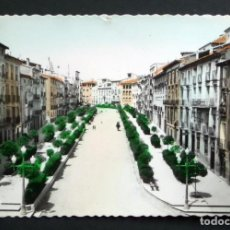 Postales: TUDELA, CALLE VILLANUEVA. ANTIGUA POSTAL COLOREADA. Lote 124620507