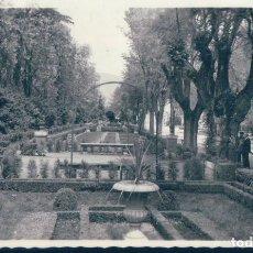Postales: POSTAL PAMPLONA 201 - JARDINES DE LA TACONERA - ARRIBAS - CIRCULADA. Lote 127201115