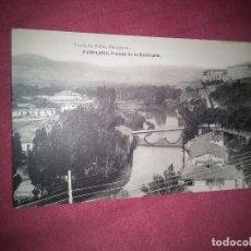 Postales: PAMPLONA PUENTE DE LA ROCHAPEA. SIN CIRCULAR. Lote 127466215
