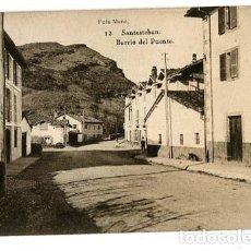 Postales: NAVARRA SANTESTEBAN BARRIO DEL PUENTE. FOTO MENA, FOTOTIPIA HAUSER Y MENET. SIN CIRCULAR. Lote 127661587
