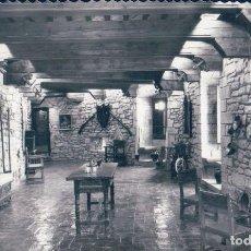 Postales: CASTILLO DE JAVIER SALA GRANDE CHIMENEA Y RINCON ,EDICIONES SICILIA 8. Lote 128073559