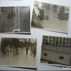 Postales: LOTE FOTOS TUDELA -INUNDACIONES FOTOS DE PEINADO Y MAZO FOTOGRAFIA ARTISTICA-TUDELA CM. Lote 128536043