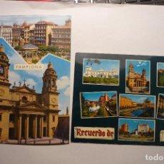 Postales: LOTE POSTALES DE PAMPLONA.-CIRCULADAS CM. Lote 128557435