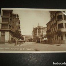 Postales: PAMPLONA AVENIDA DE SAN IGNACIO POSTAL FOTOGRAFICA . Lote 128710671