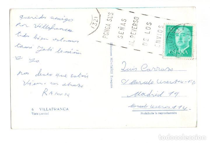 Postales: VILLAFRANCA (NAVARRA) VISTA PARCIAL - Foto 2 - 128729823