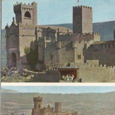 Cartes Postales: PAMPLONA, CASTILLO DE JAVIER, MARCHA AL CASTILLO - FOTOS GOMEZ - EDITADA EN 1969 - CIRCULADA. Lote 129006555