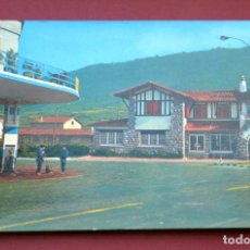 Postales: POSTAL DE ALSASUA ( PAMPLONA): CRUCE DE CARRETERAS. Lote 129431831