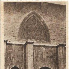Postais: RONCESVALLES Nº 6 DETALLE CLAUSTRO Y PORTADA DE SAN AGUSTIN .- HAUSER-MENET . Lote 129968867