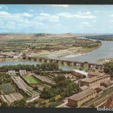 Postales: TUDELA - LA MEJANA Y RÍO EBRO - P26690. Lote 130281758