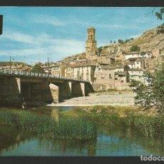 Cartoline: PERALTA - PUENTE SOBRE EL RÍO ARGA - P26690. Lote 130282366