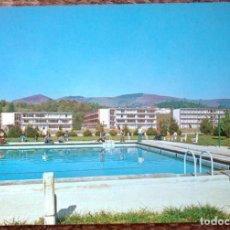 Postales: LECAROZ - VISTA DEL COLEGIO. Lote 130542770