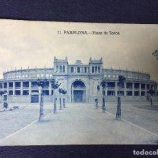 Postales: POSTAL NAVARRA PAMPLONA PLAZA DE TOROS 11 ESCRITA CIRCULADA. Lote 130661458