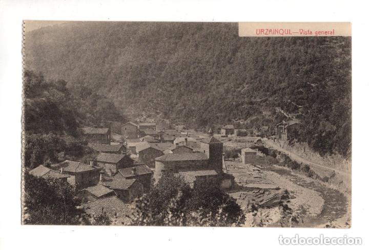 URZAINQUI (NAVARRA).- VISTA GENERAL EDICION ESTORNES. (Postales - España - Navarra Antigua (hasta 1.939))