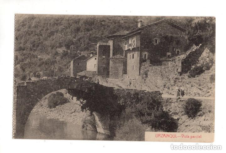 URZAINQUI (NAVARRA).- VISTA PARCIAL EDICION ESTORNES. (Postales - España - Navarra Antigua (hasta 1.939))