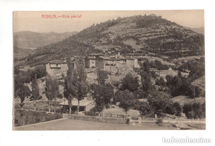RONCAL (NAVARRA).- VISTA PARCIAL (Postales - España - Navarra Antigua (hasta 1.939))