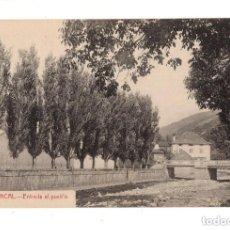Postales: RONCAL (NAVARRA).- ENTRADA AL PUEBLO. Lote 131952434