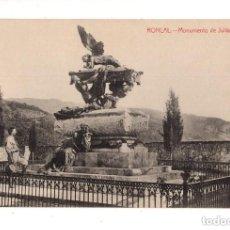 Postales: RONCAL (NAVARRA).- MONUMENTO DE JULIAN GAYARE. Lote 172988837
