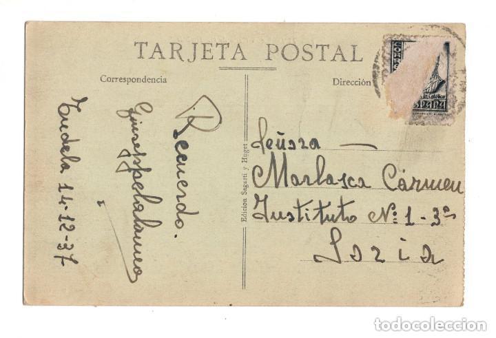 Postales: TUDELA.- CALLE DE GAZTAMBIDE. - Foto 2 - 132038930