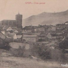 Postales: ISABA (NAVARRA) - VISTA PARCIAL - EDICIÓN ESTORNES. Lote 132533474