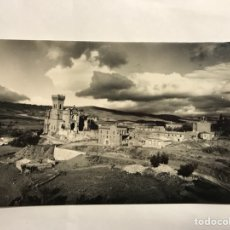 Postales: CASTILLO DE JAVIER (NAVARRA) POSTAL NO.1 VISTA GENERAL. EDITA: EDICIONES SICILIA (H.1950 H). Lote 133015105