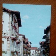 Postales: POSTAL VERA DE BIDASOA (NAVARRA) CALLE DE ALZATE- AÑOS 60 , ED. TELLECHEA. Lote 133481807
