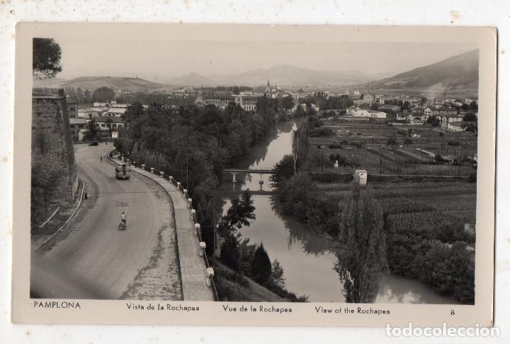 PAMPLONA. VISTA DE LA ROCHAPEA. (Postales - España - Navarra Moderna (desde 1.940))