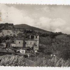 Postales: VERA DE BIDASOA. PARROQUIA Y MONTE CALVARIO. FRANQUEADA.. Lote 133574406