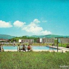 Postales: COLEGIO DE LECAROZ .- PISCINA Y VISTA SUR DEL COLEGIO .- EDI. GRAFINASA . Lote 133669070
