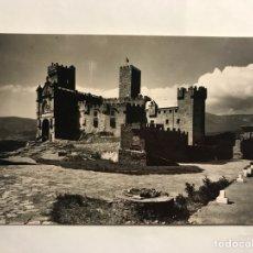 Postales: CASTILLO DE JAVIER (NAVARRA) POSTAL NO. 3, VISTA DEL CASTILLO Y BASÍLICA. EDITA: EDICIONES SICILIA. Lote 134712589