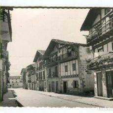 Postales: VERA DE VIDASOA (NAVARRA) CALLE DE ALZATE ESCRITA. Lote 134746694