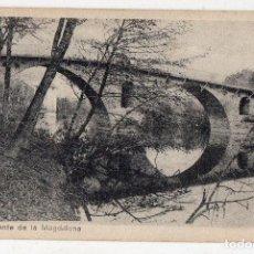 Postales: PUENTE DE LA MAGDALENA. PAMPLONA.. Lote 135217938