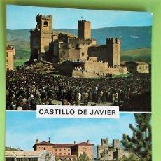 Postales: CASTILLO DE JAVIER (NAVARRA). 2 PEREGRINACIÓN AL CASTILLO DE JAVIER (JAVIERADA). ED. SICILIA. NUEVA.. Lote 135751339