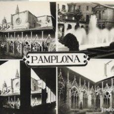 Postales: PAMPLONA Nº 4/7 VARIAS VISTAS .- EDICION POSTALES VAQUERO S/C. Lote 136262038