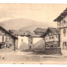Postales: TARJETA POSTAL CIGA. SERIE III. Nº 8. AÑO 1947. APUNTES VASCOS DEL BAZTAN. Lote 136368862