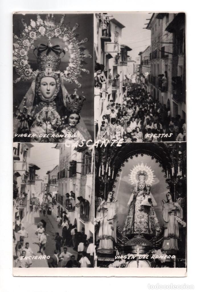 CASTANTE. ( NAVARRA).- VIRGEN DEL ROMERO.FIESTAS. ENCIERRO (Postales - España - Navarra Antigua (hasta 1.939))