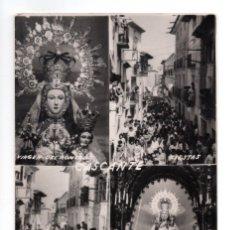 Postales: CASTANTE. ( NAVARRA).- VIRGEN DEL ROMERO.FIESTAS. ENCIERRO. Lote 137306166