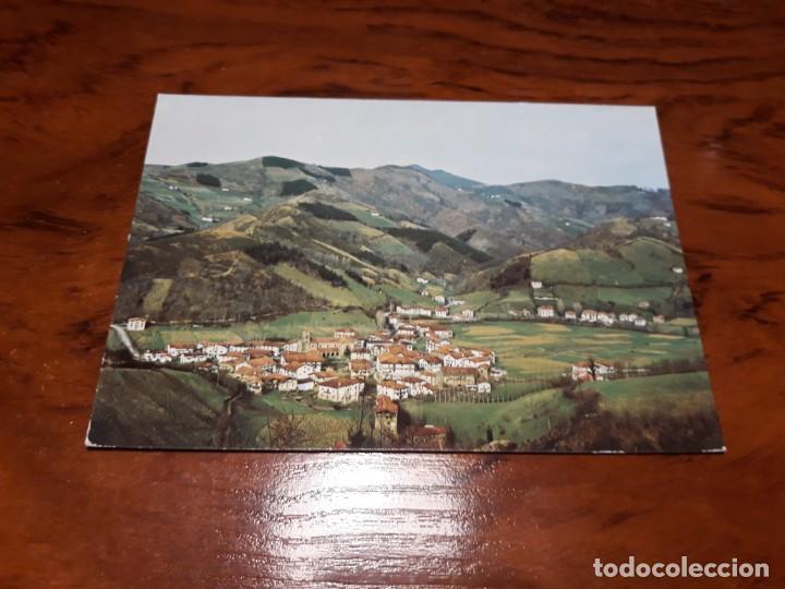 ECHALAR DESDE EL CAMINO DE AZCUA (Postales - España - Navarra Moderna (desde 1.940))