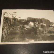 Postales: ESTELLA NAVARRA RIO EGA Y RUINAS DE SANTO DOMINGO. Lote 139204230