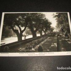 Postales: PAMPLONA NAVARRA JARDINES DE LA TACONERA. Lote 140014274