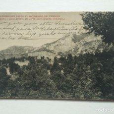 Postales: EXCURSIONES DESDE EL BALNEARIO DE TIERMAS SIERRA Y MONASTERIO DE LEIRE MONUMENTO NACIONAL. Lote 140733114