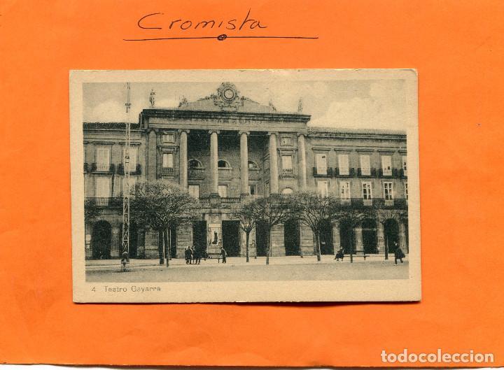 PAMPLONA ( TEATRO GAYARRE ) -- NO CIRCULADA // ( EXTR2018 ) (Postales - España - Navarra Antigua (hasta 1.939))