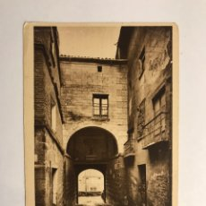 Postales: VIANA (NAVARRA) POSTAL NO.9, PUERTA. EDITA: FOTO L. ROISIN (H.1940?). Lote 141443198