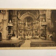 Postales: LOS ARCOS (NAVARRA) POSTAL NO.84, INTERIOR DE LA PARROQUIA DE LA ASUNCIÓN. EDITA: FOTO L.ROISIN. Lote 141494481