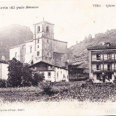 Postales: VERA (NAVARRA) - IGLESIA DE SAN ESTEBAN. Lote 142628822