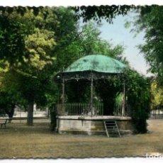 Postales: TARJETA POSTAL FOTOGRAFICA - TUDELA / PASEO GENERALISIMO Y KIOSCO. Lote 142687278