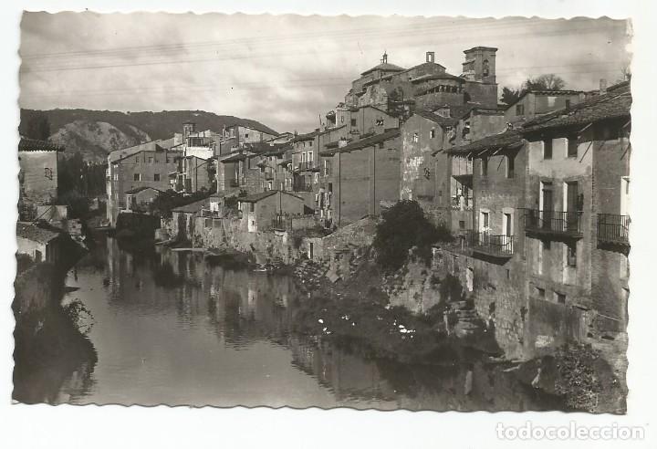 ESTELLA - ORILLAS DEL RÍO EGA - Nº 15 ED. IMPRENTA GARBAYO (Postales - España - Navarra Moderna (desde 1.940))
