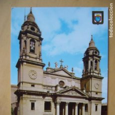 Postales: PAMPLONA (NAVARRA) - FACHADA CATEDRAL. Lote 143310374